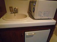 手洗い付近・レンジ・冷蔵庫・電気ポット