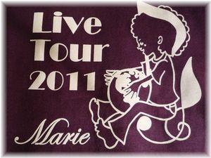 Marie Live Tour 2011 Tシャツ2